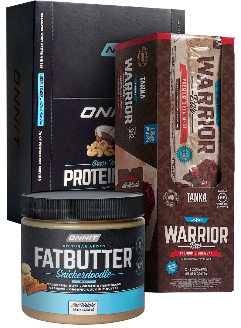 The Onnit Healthy Snack Collection