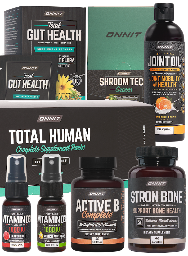 The Onnit Vitality and Joint Support Collection