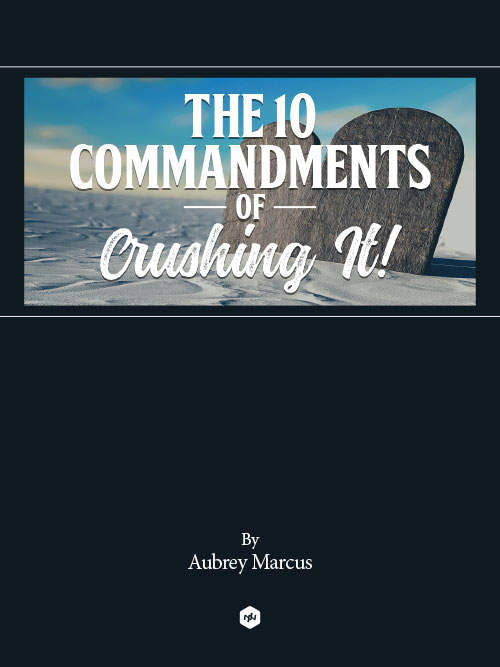 The 10 Commandments of Crushing It