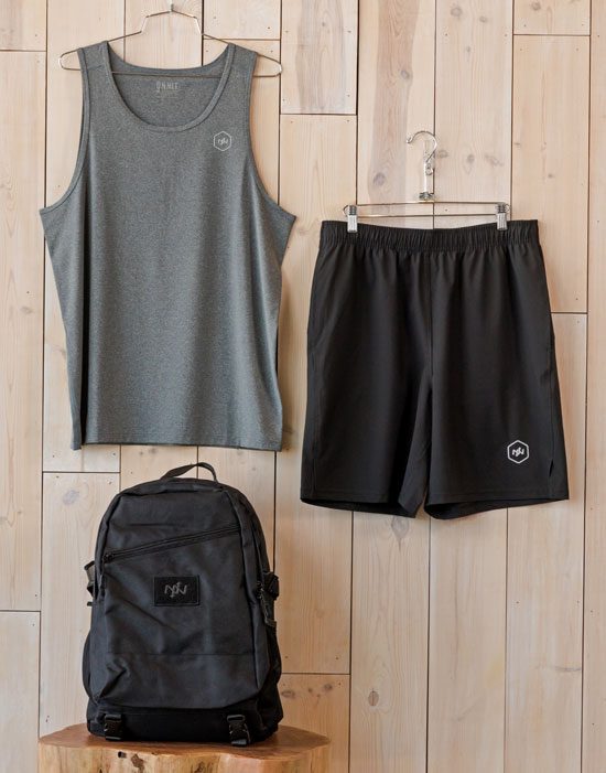 Curated performance wear outfit for men, 3 of 3
