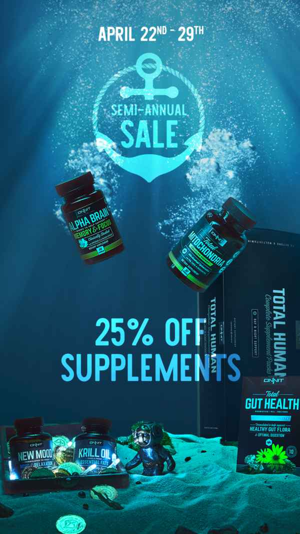 Onnit Semi Annual Sale