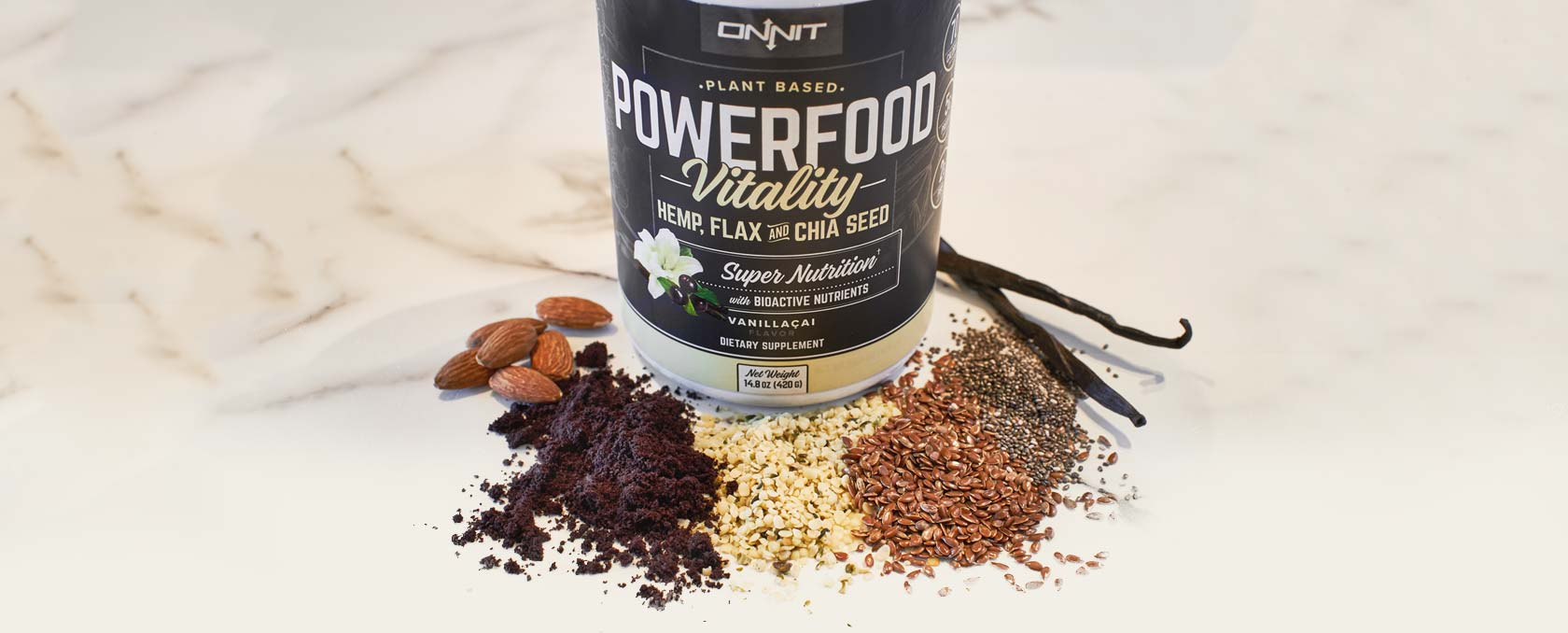 Powerfood Vitality With Ingredients