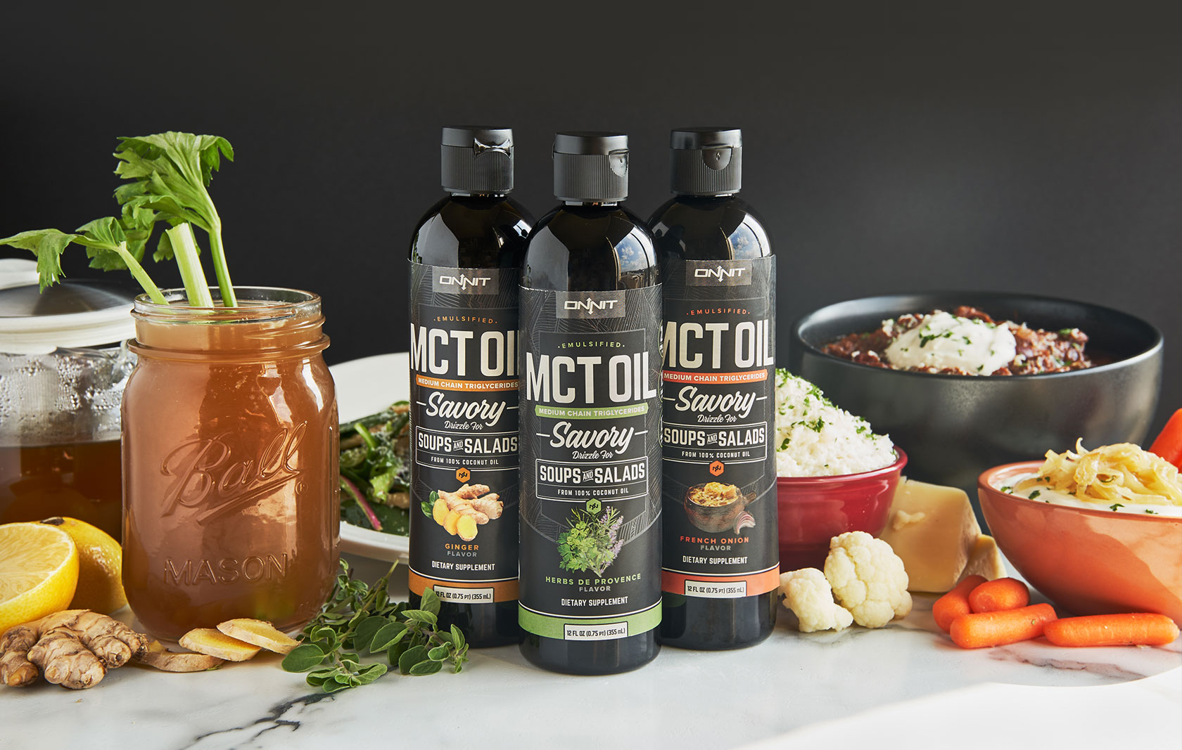 Savory Emulsified MCT Oil Flavors