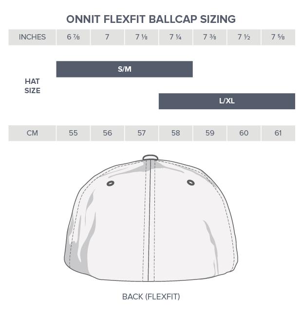 Onnit Flexfit Ballcap Sizing