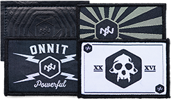 Exclusive patches in Onnit X